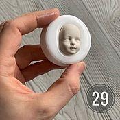 Материалы для творчества handmade. Livemaster - original item Mold No. №29 (form for making a face). Handmade.