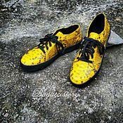 Обувь ручной работы handmade. Livemaster - original item Shoes made of genuine Python leather. Handmade.