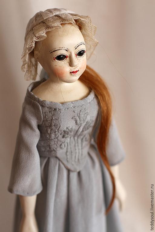 Коллекционные куклы ручной работы. Ярмарка Мастеров - ручная работа. Купить Марион I, деревянная кукла времен Королевы Анны. Handmade.