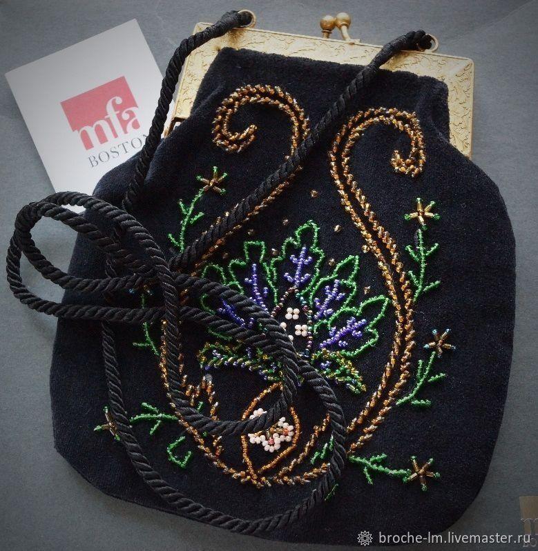 8d2d080e8aeb Винтажные сумки и кошельки. Ярмарка Мастеров - ручная работа. Купить Винтаж:  MFA Museum ...