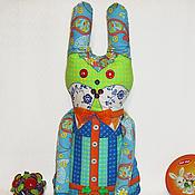 Куклы и игрушки ручной работы. Ярмарка Мастеров - ручная работа Игровая кукла Заец-Удалец. Handmade.