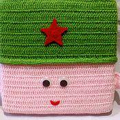 Подарки к праздникам ручной работы. Ярмарка Мастеров - ручная работа Солдат подушка. Handmade.
