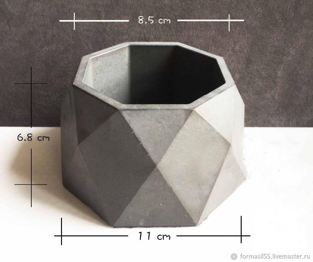 силиконовые формы для бетона заказать