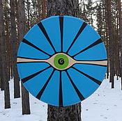 Музыкальные инструменты handmade. Livemaster - original item All-seeing eye. Tambourine 30 cm.. Handmade.