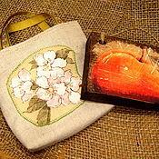 """Сумки и аксессуары ручной работы. Ярмарка Мастеров - ручная работа Сумочка """"Цветы персика"""". Handmade."""