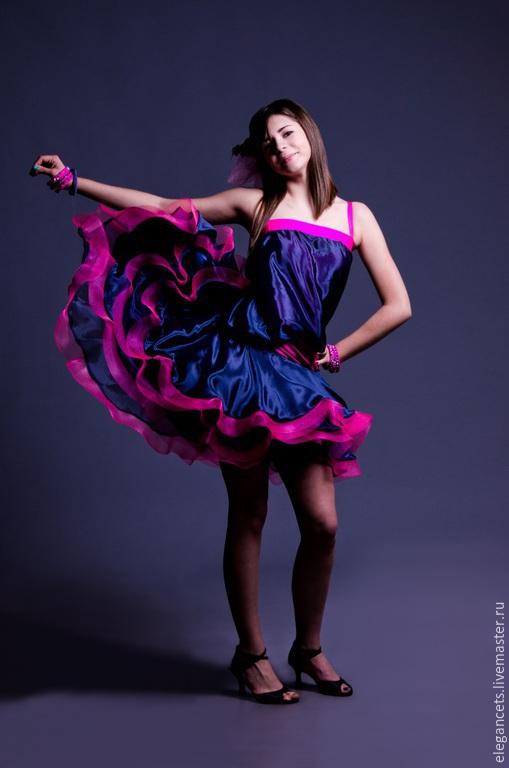 Танцевальные костюмы ручной работы. Ярмарка Мастеров - ручная работа. Купить Платье для латино-американской программы бальных танцев. Роскошь НЭПа. Handmade.