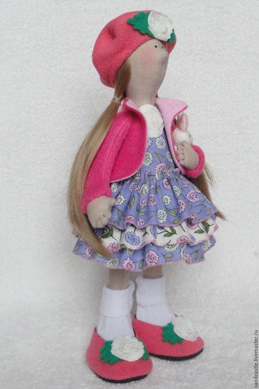 Куклы Тильды ручной работы. Ярмарка Мастеров - ручная работа. Купить Кукла интерьерная Майя. Handmade. Розовый, интерьерная