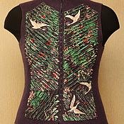 Одежда ручной работы. Ярмарка Мастеров - ручная работа Журавль в руках. Handmade.