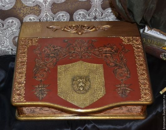 Бюро для бумаг, подарок руководителю