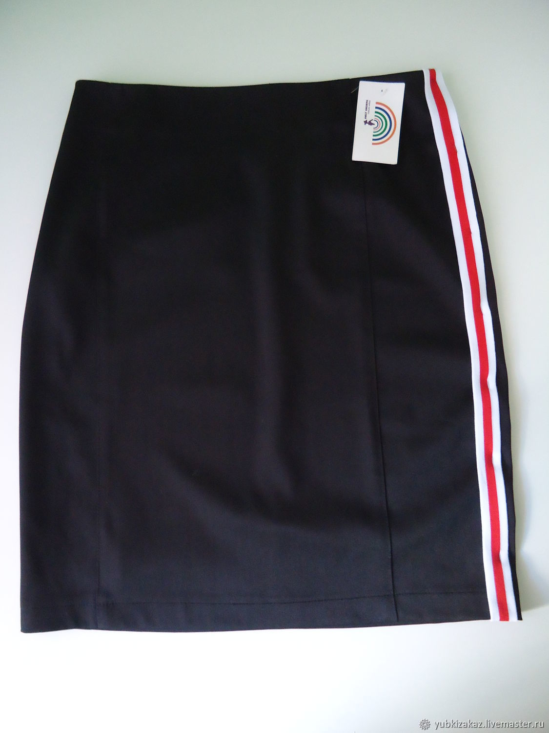 Skirt with stripes in the sports style, Skirts, Novosibirsk,  Фото №1