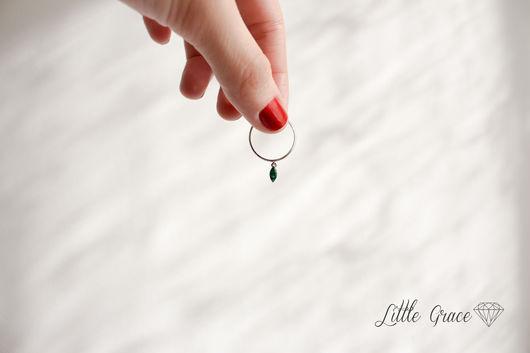 Кольца ручной работы. Ярмарка Мастеров - ручная работа. Купить Кольцо Листик из серебра. Handmade. Little grace, серебро
