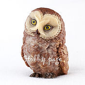Материалы для творчества handmade. Livemaster - original item Silicone molds for soap Owl 1. Handmade.