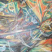 Картины и панно ручной работы. Ярмарка Мастеров - ручная работа Мир глазами бабочки. Картина маслом.. Handmade.