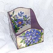 Для дома и интерьера handmade. Livemaster - original item Box for spices viola. Handmade.
