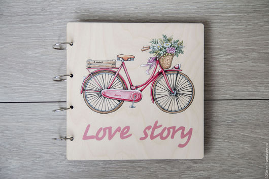 """Фотоальбомы ручной работы. Ярмарка Мастеров - ручная работа. Купить Фотоальбом """"Love story"""". Handmade. Комбинированный, подарок девушке, пара"""