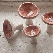 Для дома и интерьера ручной работы. Ярмарка Мастеров - ручная работа керамические грибы. Handmade.