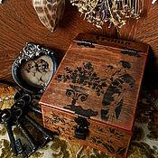 """Для дома и интерьера ручной работы. Ярмарка Мастеров - ручная работа Шкатулка , короб ,  сундучок  """" Находка из старой хижины"""". Handmade."""