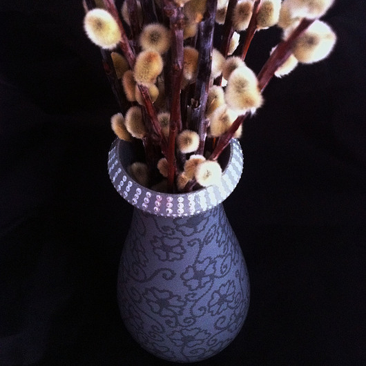 Вазы ручной работы. Ярмарка Мастеров - ручная работа. Купить Ваза  для сухоцветов. Handmade. Ваза, подарок, ручная роспись