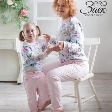 Одежда ручной работы. Ярмарка Мастеров - ручная работа Костюм Pro Заек (family look). Handmade.