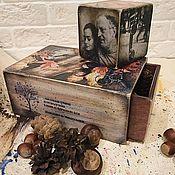 Подарки к праздникам handmade. Livemaster - original item Joseph Brodsky, in memory of the poet. Handmade.