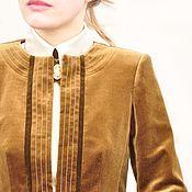 Одежда ручной работы. Ярмарка Мастеров - ручная работа эксклюзивное предложение.  Пиджак бархатный.. Handmade.