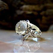 Украшения handmade. Livemaster - original item Ring with Topaz. Handmade.