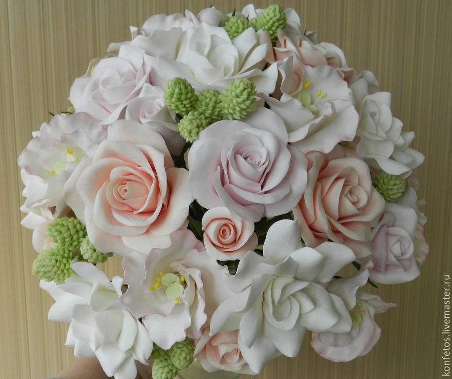 Bouquet 'Love of the Snow Queen', Wedding bouquets, Voskresensk,  Фото №1
