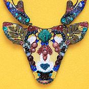 Украшения handmade. Livemaster - original item Antelope Bordeaux. Handmade.