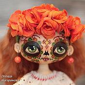 Куклы и игрушки ручной работы. Ярмарка Мастеров - ручная работа Интерьерная текстильная кукла Каталина. Handmade.