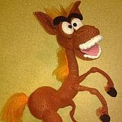 Куклы и игрушки handmade. Livemaster - original item A talking Horse - intellectual. Handmade.