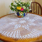 Для дома и интерьера handmade. Livemaster - original item Tablecloth