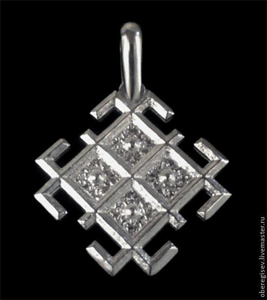 `Макошь` из серебра 25мм.(3,5гр.)- 1100руб .-ЕСТЬ В НАЛИЧИИ.