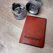 Обложки ручной работы. Ярмарка Мастеров - ручная работа Обложка для паспорта DCC-04. Handmade.