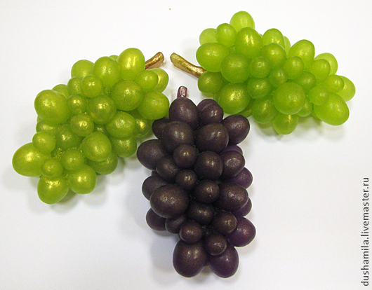 Мыло ручной работы. Ярмарка Мастеров - ручная работа. Купить Мыло Гроздь винограда. Handmade. Зеленый, мыло сувенирное, ароматизаторы