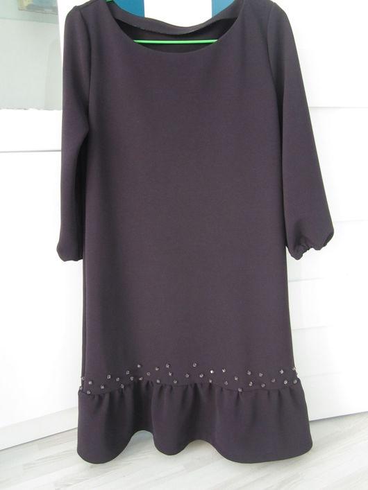 Платья ручной работы. Ярмарка Мастеров - ручная работа. Купить Повседневное платье. Handmade. Платье, коричневый, стильное платье