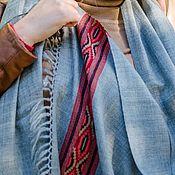 Аксессуары handmade. Livemaster - original item Grey volume scarf. Handmade.
