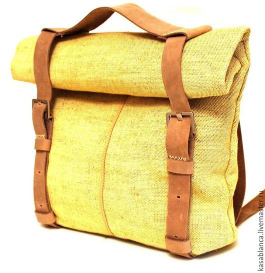 Рюкзаки ручной работы. Ярмарка Мастеров - ручная работа. Купить Сумка рюкзак / роллтоп. Handmade. Однотонный, бохо