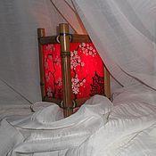 Для дома и интерьера ручной работы. Ярмарка Мастеров - ручная работа Подсвечник витражный в китайском стиле Красный. Handmade.