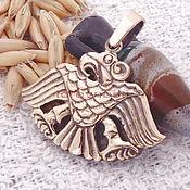 Фен-шуй и эзотерика handmade. Livemaster - original item Scythians.Scythian jewelry.The eagle pendant amulet talisman amulet bronze.. Handmade.