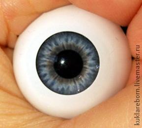 Акриловые глаза для кукол реборн