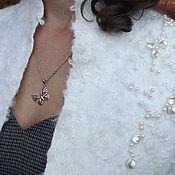 """Одежда ручной работы. Ярмарка Мастеров - ручная работа Жакет валяный """"Брызги шампанского"""". Handmade."""