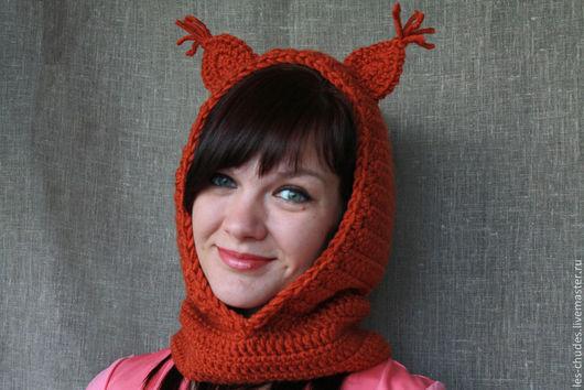 Данный аксессуар заменяет собой шапку и шарф, свободное прилегание к голове обеспечивает сохранность Вашей прически.