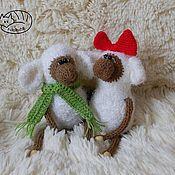 Куклы и игрушки ручной работы. Ярмарка Мастеров - ручная работа Овечки влюбленные. Handmade.