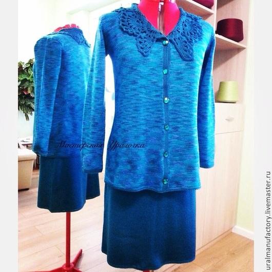 Костюмы ручной работы. Ярмарка Мастеров - ручная работа. Купить Костюм (блузка и юбка) вязаный. Handmade. Вязание, handmade, трикотаж