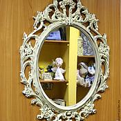 """Для дома и интерьера ручной работы. Ярмарка Мастеров - ручная работа Зеркало """"Дворцовый шик"""" :-). Handmade."""
