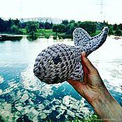 Куклы и игрушки ручной работы. Ярмарка Мастеров - ручная работа Добрый кит «Гоша». Handmade.