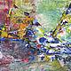 Абстракция ручной работы. Ярмарка Мастеров - ручная работа. Купить Огромная 2.5 м Мираж Пирамид, абстракция оригинал. Handmade.