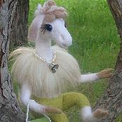 Куклы и игрушки ручной работы. Ярмарка Мастеров - ручная работа Гламурная овечка. Handmade.
