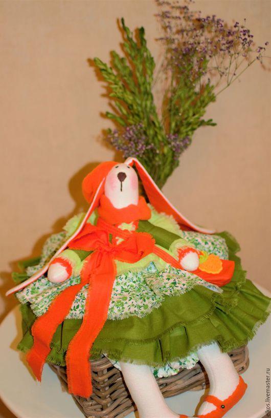 Кухня ручной работы. Ярмарка Мастеров - ручная работа. Купить Пакетница Морковка. Handmade. Рыжий, кухонные аксессуары