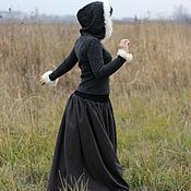 """Одежда ручной работы. Ярмарка Мастеров - ручная работа Юбка в пол """" Лапландия"""". Handmade."""